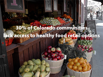 Food Stamp Healthy Food Access in Colorado