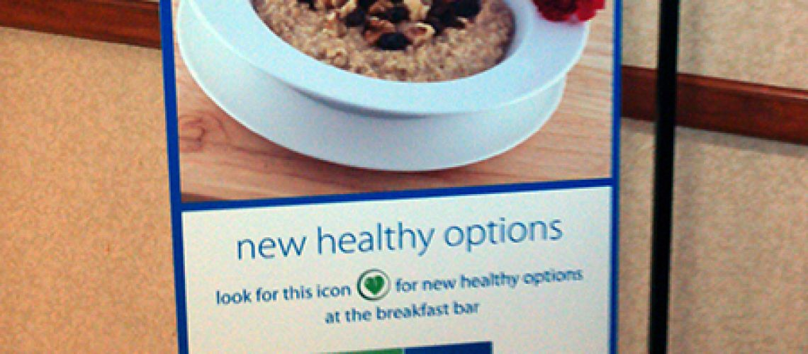 More Chain Hotels Offering Healthy Breakfast?